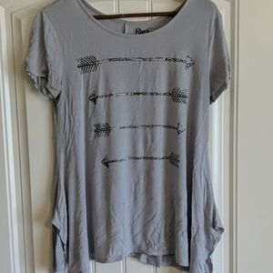 Rock 47 by Wrangler flowy shirt